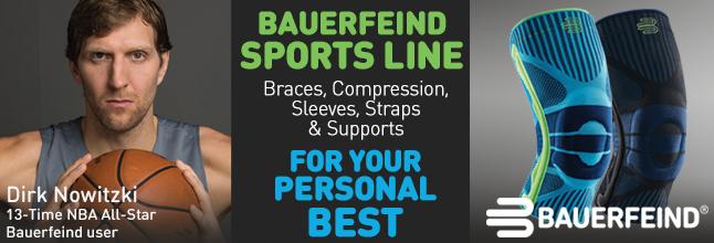 Bauerfeind sports line