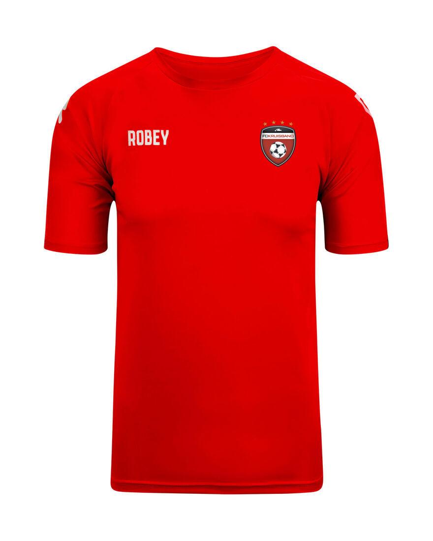 Revalidatie shirt rood